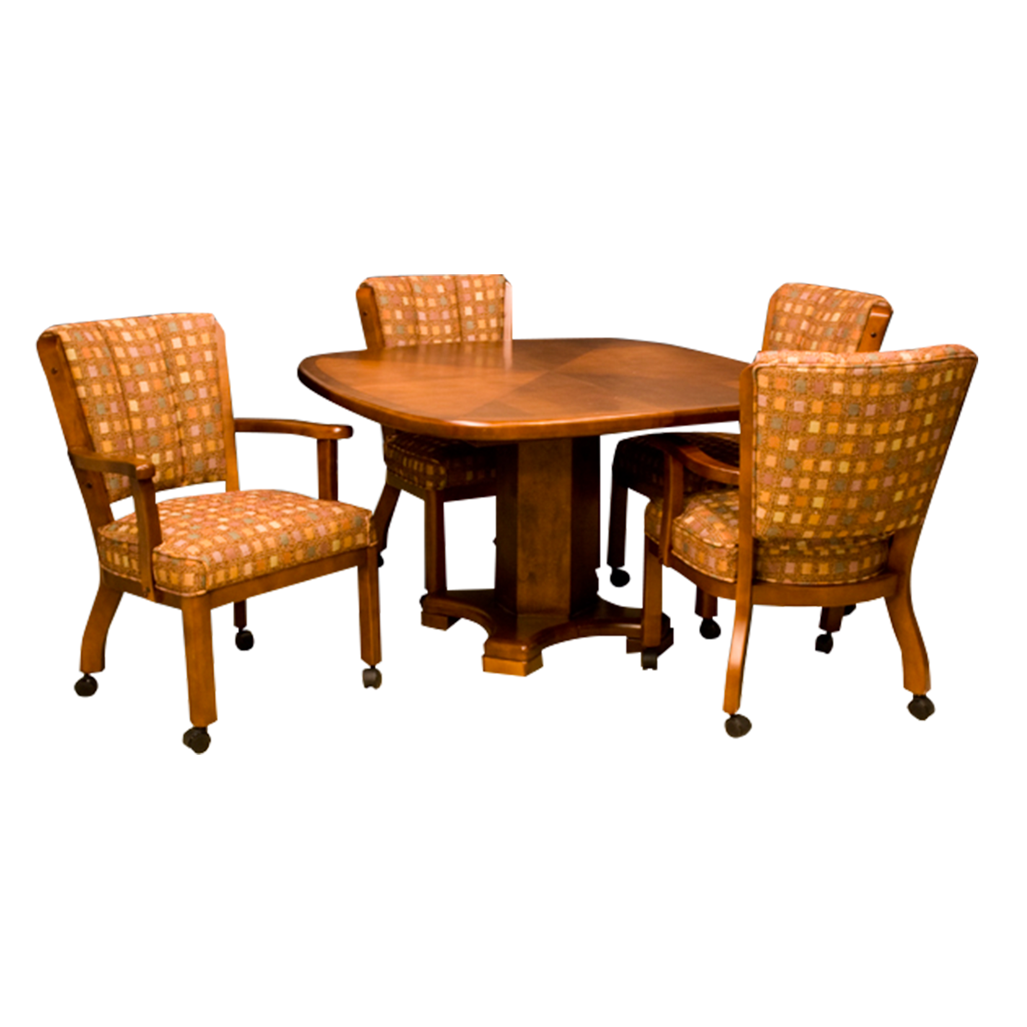t5357 casual dining table c1108 4lc c1109 4lc caster chairs