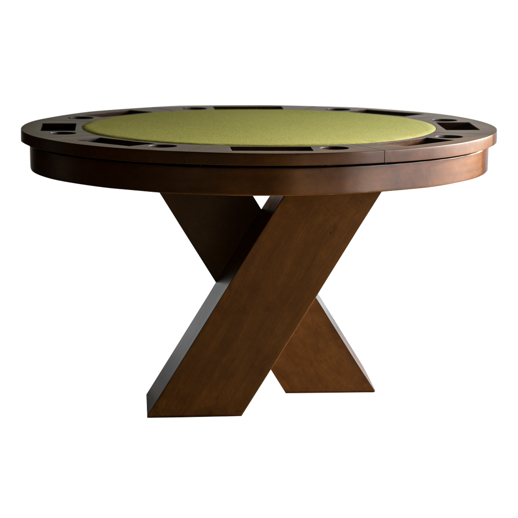 Aura Poker Dining Game Table